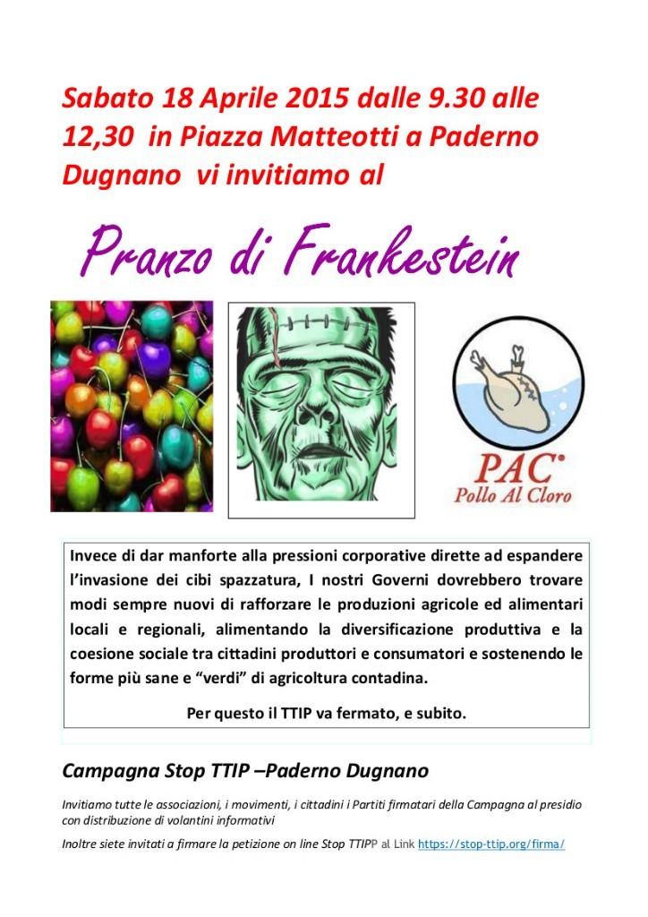18 Aprile Stop TTIP Paderno Dugnano