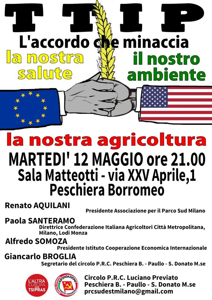 12 Maggio Milano Stop TTIP