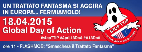 Un trattato Fantasma si aggira per l'Europa. Fermiamo il TTIP!