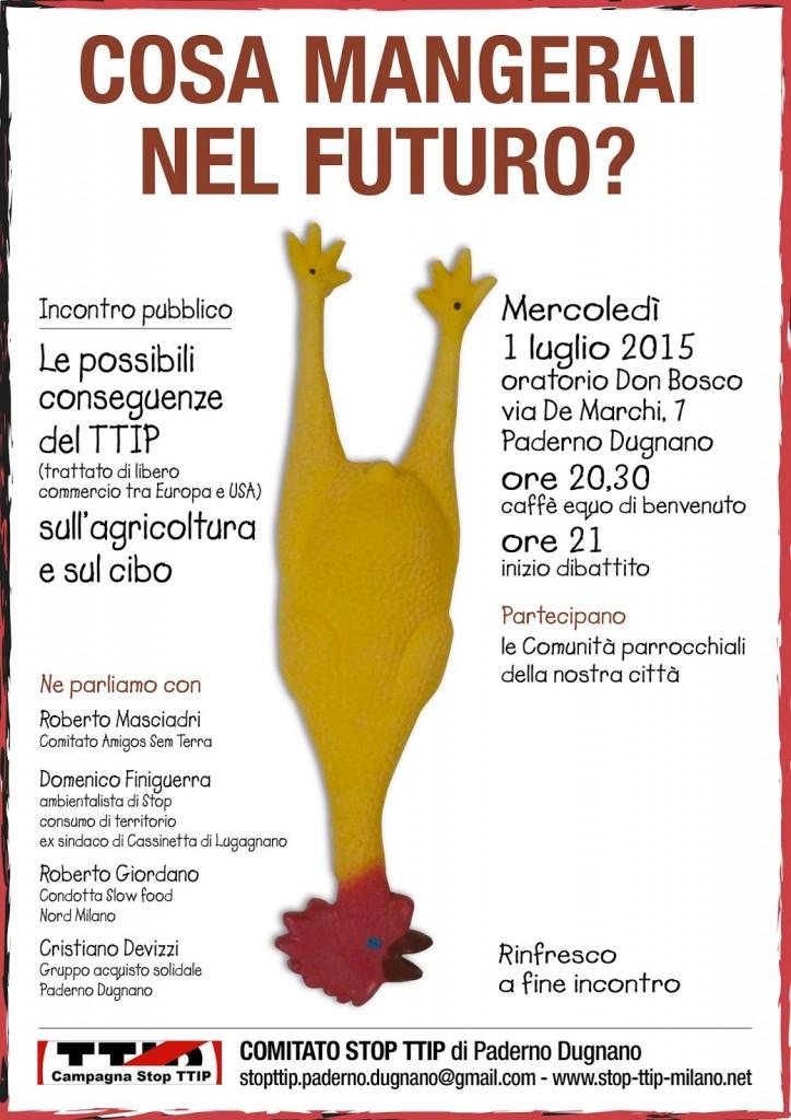 STOP TTIP 1luglio Paderno Dugnano